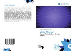 Bookcover of Viola, Missouri