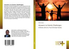 Capa do livro de Answers to Family Challenges