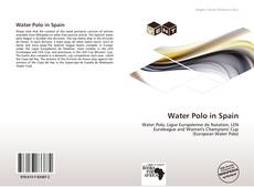Buchcover von Water Polo in Spain