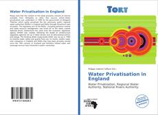 Bookcover of Water Privatisation in England