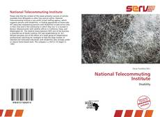 Bookcover of National Telecommuting Institute