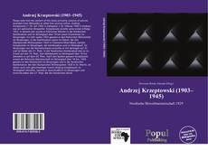Обложка Andrzej Krzeptowski (1903–1945)