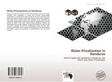 Water Privatization in Honduras的封面