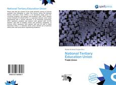 Portada del libro de National Tertiary Education Union