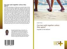 Buchcover von Can two walk together unless they agree?