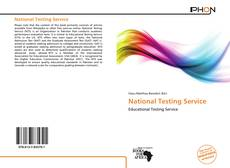 Bookcover of National Testing Service