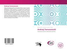 Copertina di Andrzej Tomaszewski