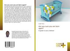 Buchcover von Are you sure you are born again?