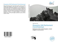 Bookcover of Oswestry (UK Parliament Constituency)