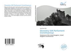 Buchcover von Oswestry (UK Parliament Constituency)