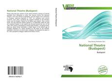 Bookcover of National Theatre (Budapest)