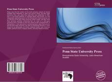 Portada del libro de Penn State University Press
