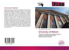 Bookcover of University of Makati