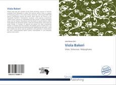 Bookcover of Viola Bakeri
