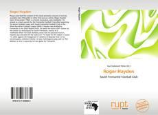 Capa do livro de Roger Hayden