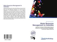 Bookcover of Water Resources Management in Colombia