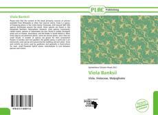Bookcover of Viola Banksii