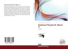 Обложка National Theatre D. Maria II