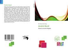 André Bord kitap kapağı