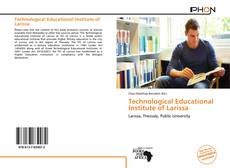 Couverture de Technological Educational Institute of Larissa
