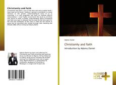 Bookcover of Christianity and faith
