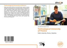 Buchcover von Technological University of Pereira