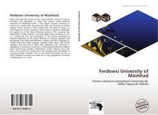 Portada del libro de Ferdowsi University of Mashhad