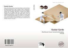 Bookcover of Oszkár Gerde