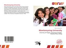Bookcover of Mawlamyaing University