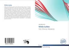Bookcover of Viola Lutea