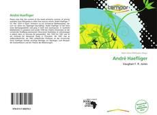 Bookcover of André Haefliger