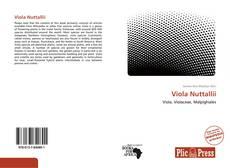 Bookcover of Viola Nuttallii