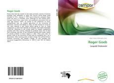Portada del libro de Roger Goeb