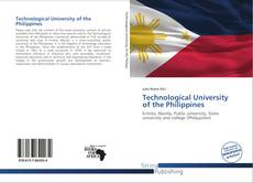 Couverture de Technological University of the Philippines