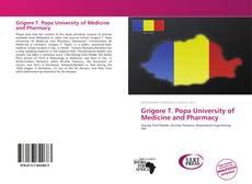 Portada del libro de Grigore T. Popa University of Medicine and Pharmacy