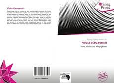 Bookcover of Viola Kauaensis