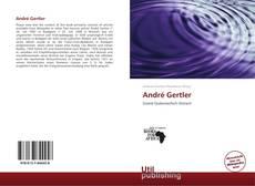 Buchcover von André Gertler