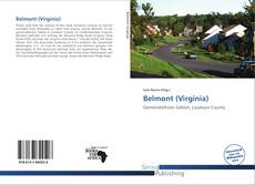 Bookcover of Belmont (Virginia)