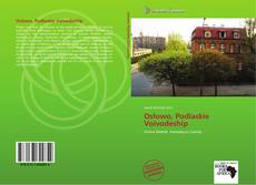 Portada del libro de Osłowo, Podlaskie Voivodeship
