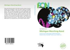 Portada del libro de Michigan Marching Band