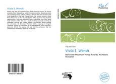 Bookcover of Viola S. Wendt