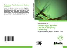 Couverture de Technology Transfer Center of Zhejiang University