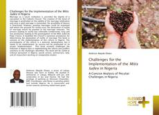 Buchcover von Challenges for the Implementation of the Mitis Iudex in Nigeria