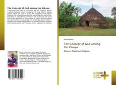 Bookcover of The Concept of God among the Kikuyu.