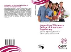 Capa do livro de University of Minnesota College of Science and Engineering