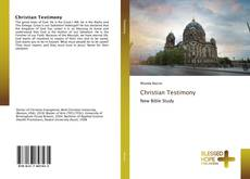 Bookcover of Christian Testimony