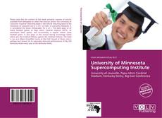 Buchcover von University of Minnesota Supercomputing Institute