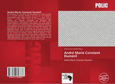 Bookcover of André Marie Constant Duméril