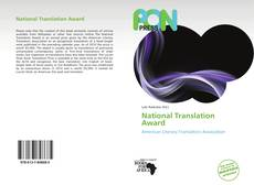 Buchcover von National Translation Award