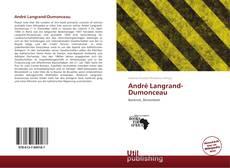 André Langrand-Dumonceau kitap kapağı